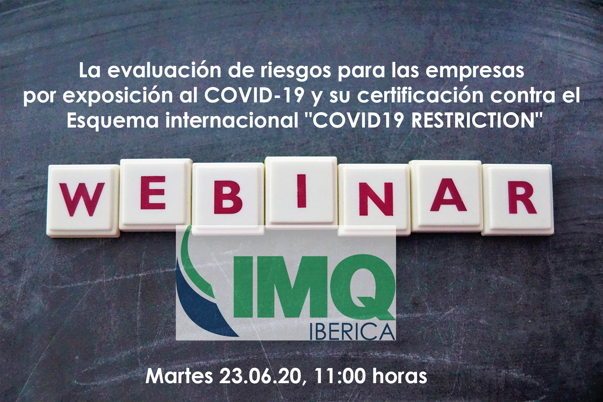 WEBINAR GRATUITA COVID-19 RESTRICTION